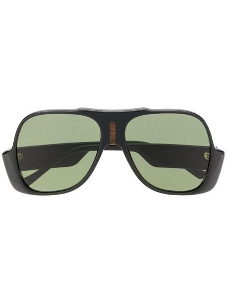 Gucci Eyewear GG0785S aviator-frame sunglasses in black