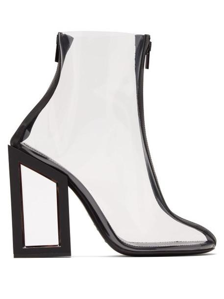 Nicholas Kirkwood - Void Pvc Ankle Boots - Womens - Black