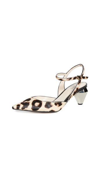 Marc Jacobs The Slingback Pumps in camel / multi