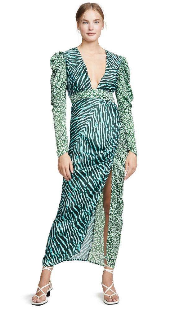 ROCOCO SAND Long Dress in green