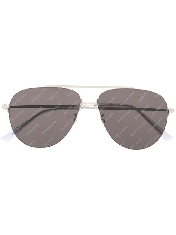 Balenciaga Eyewear Invisible Aviator sunglasses in silver