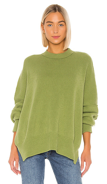 Free People Easy Street Tunic in Green