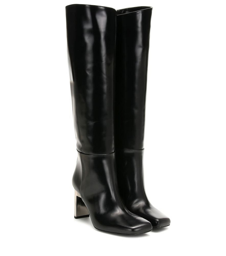 1017 ALYX 9SM Leather knee-high boots in black