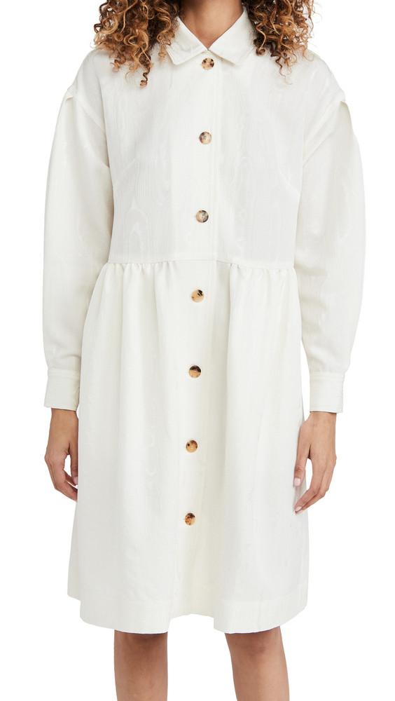 Rachel Comey Yuca Dress in white