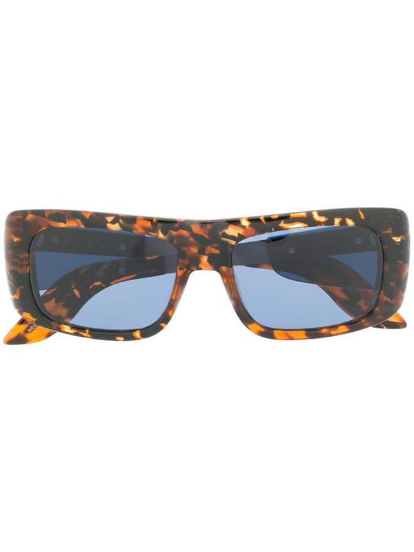 Marni Eyewear rectangle sunglasses in brown