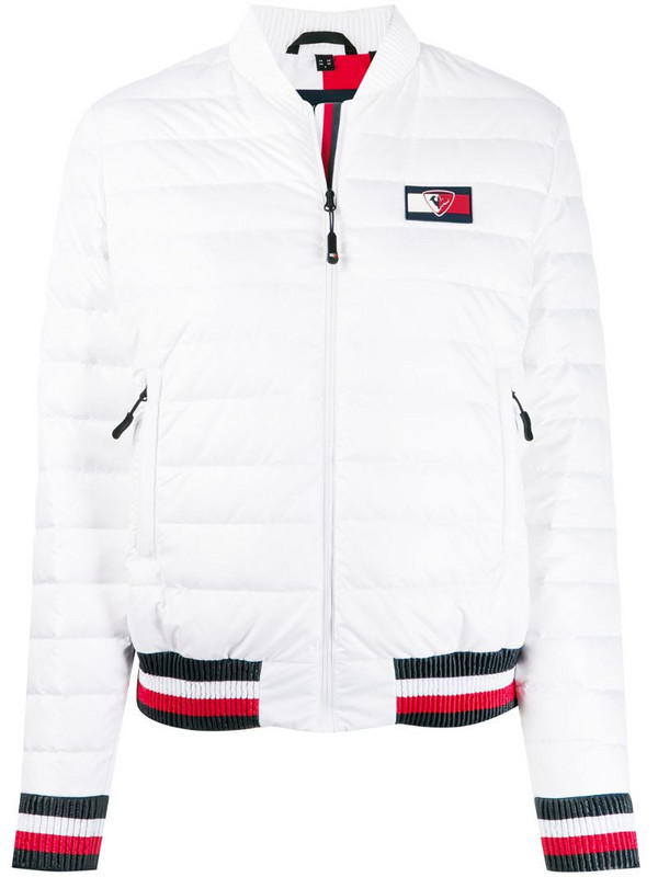 Rossignol x Tommy Hilfiger Mini-Ripstop jacket in white