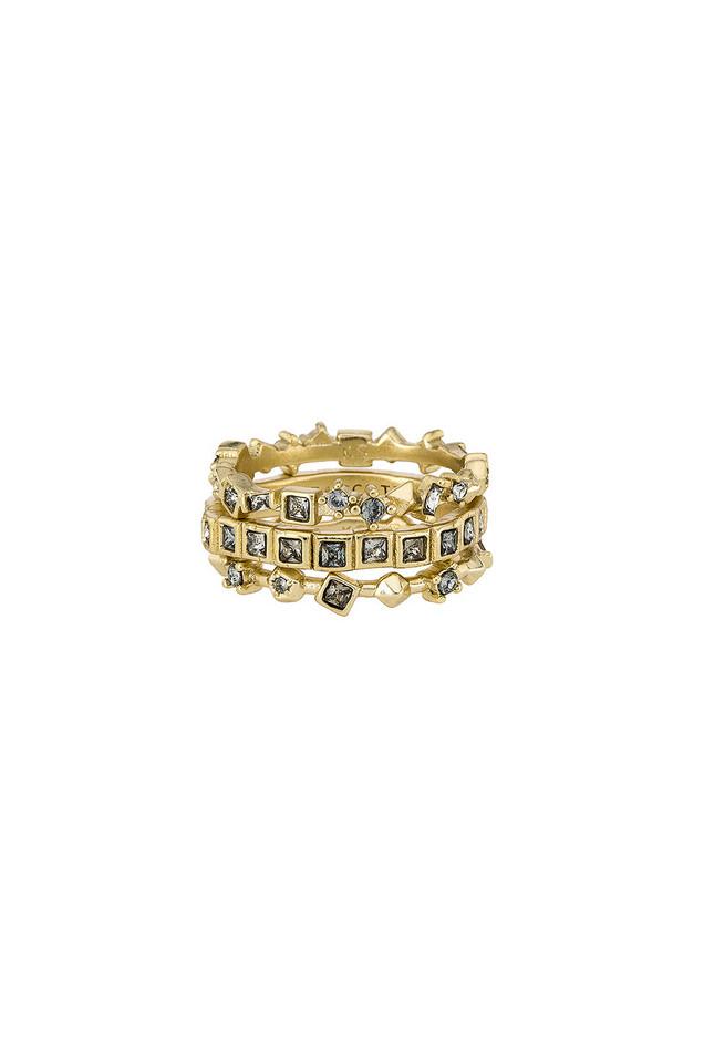 Kendra Scott Karis Ring Set in gold / metallic