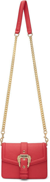 Versace Jeans Couture Pink Buckle Chain Bag