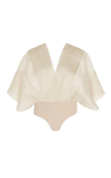Leal Daccarett Dolce Vita Silk Top Size: 2 in white