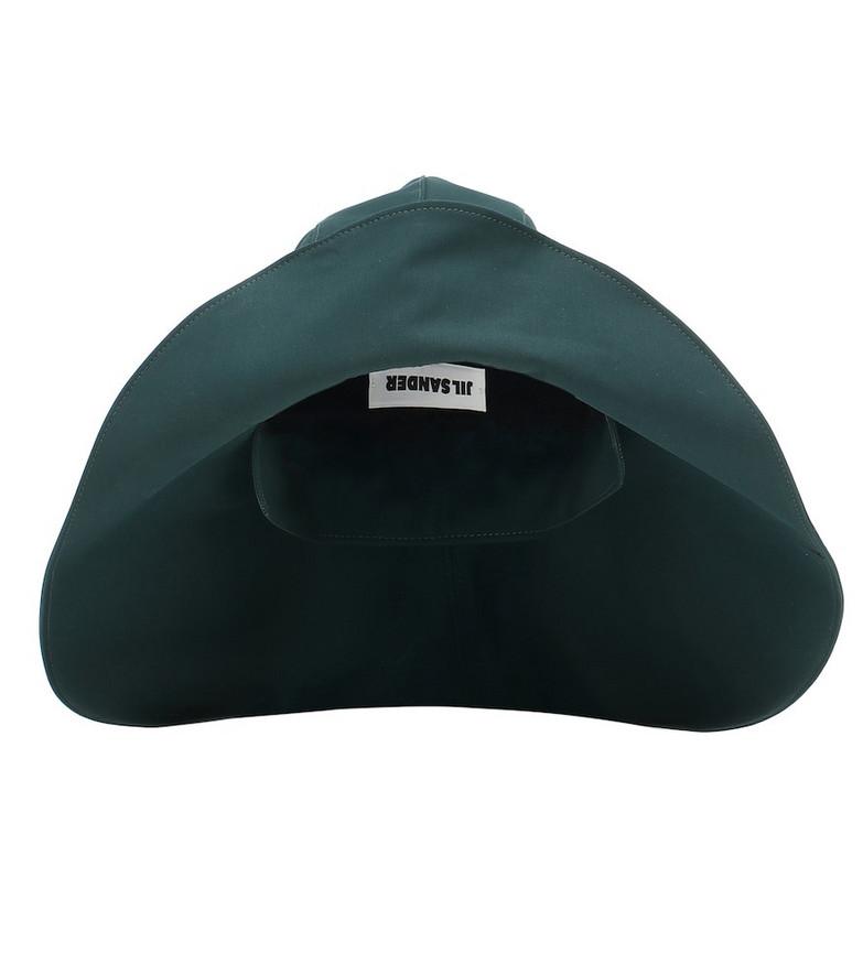 Jil Sander Cotton hat in green