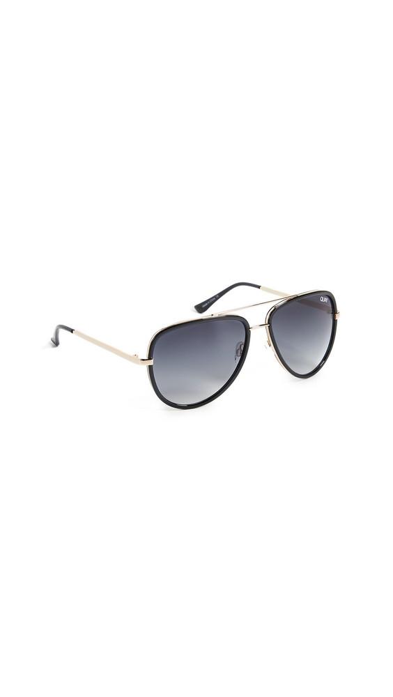 Quay All In Sunglasses in black
