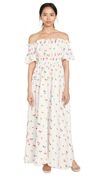 All Things Mochi Nana Dress in white