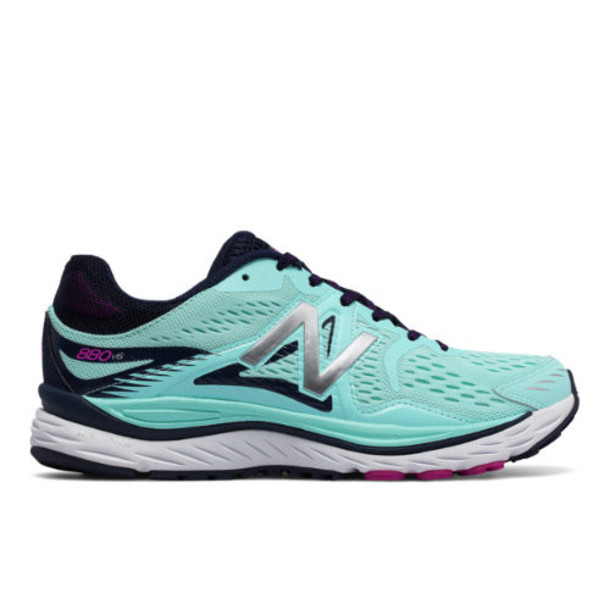 New Balance 880v6 Women's Distance Shoes - Blue/Black (W880BW6)