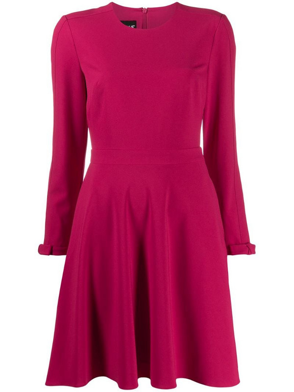 Boutique Moschino crepe swing dress in pink