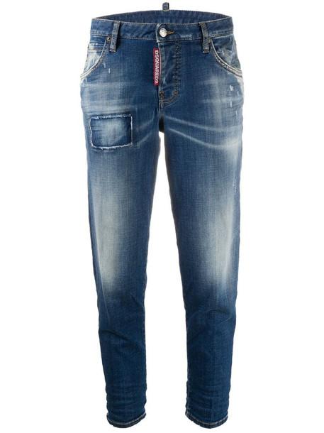 Dsquared2 Hockney straight-leg jeans in blue