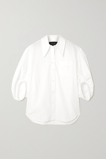 Simone Rocha - Oversized Cotton-poplin Shirt - White
