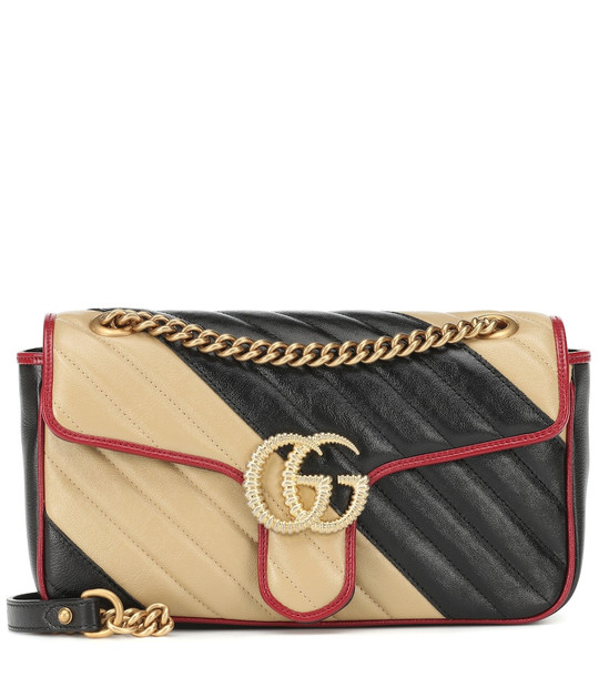 Gucci GG Marmont Small shoulder bag in black