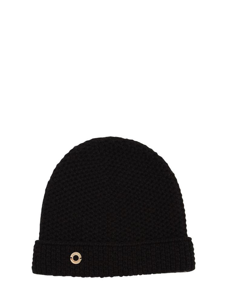 LORO PIANA Reversible Rougemont Cashmere Beanie in black