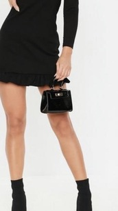 bag,black mini bag