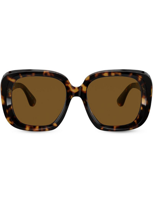 Oliver Peoples Nella tortoiseshell sunglasses in brown
