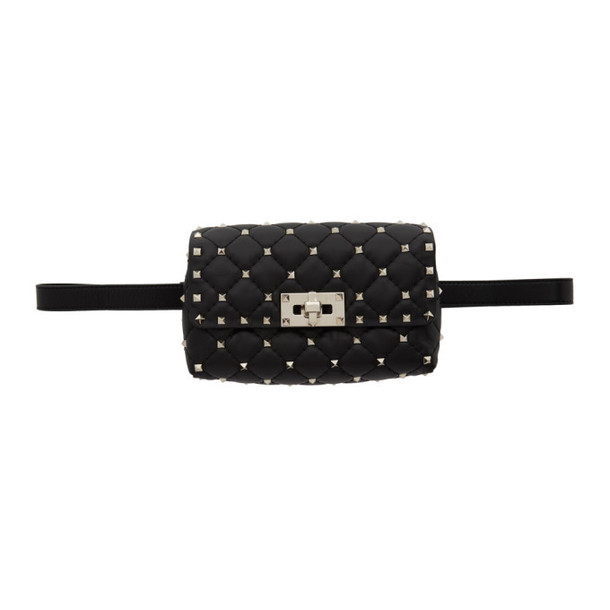 Valentino Black Valentino Garavani Rockstud Belt Bag