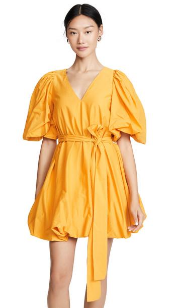Rhode Marni Dress in saffron