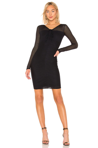 Bailey 44 Land Lubber Mesh Dress In Navy