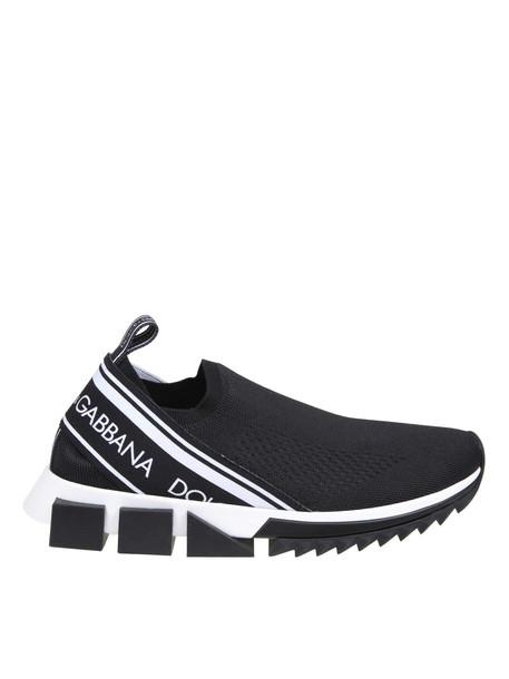 Dolce & Gabbana Sneakers Sorrento With Black Logo