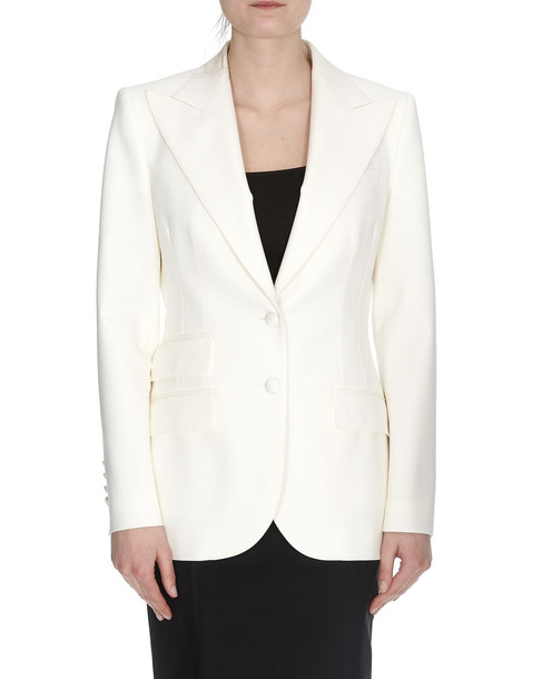 Dolce & Gabbana Blazer Jacket in white