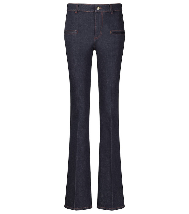 Altuzarra Serge mid-rise flared jeans in blue