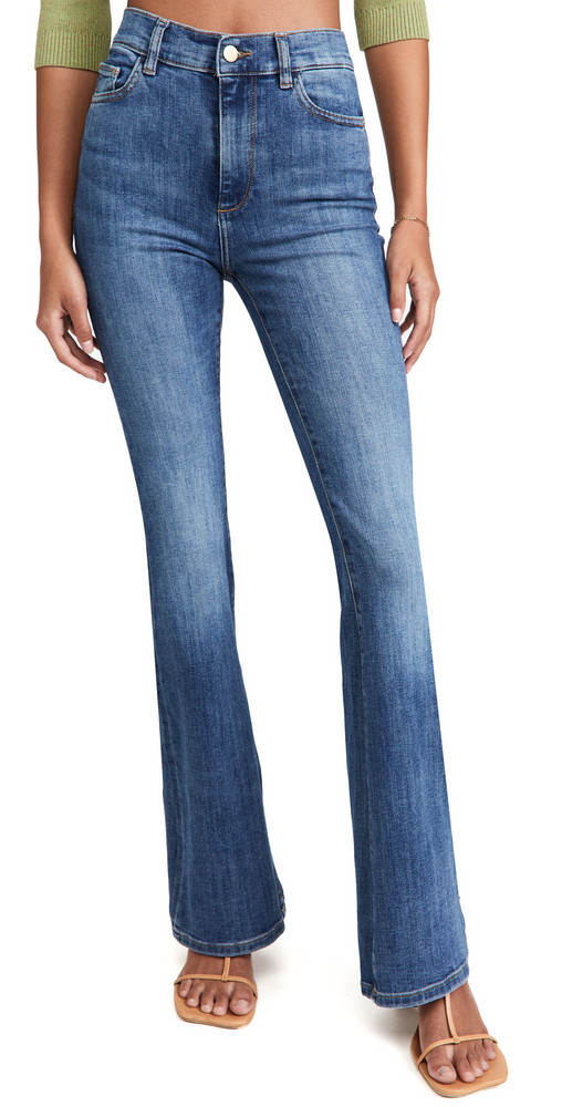 DL DL1961 High Rise Bridget Boot Instasculpt 33' Jeans