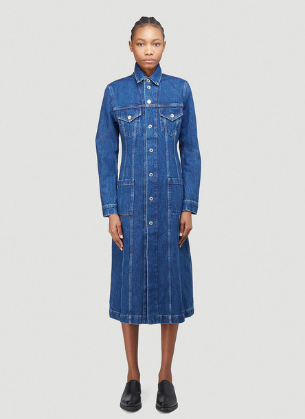 Helmut Lang Denim Coat in Blue size M
