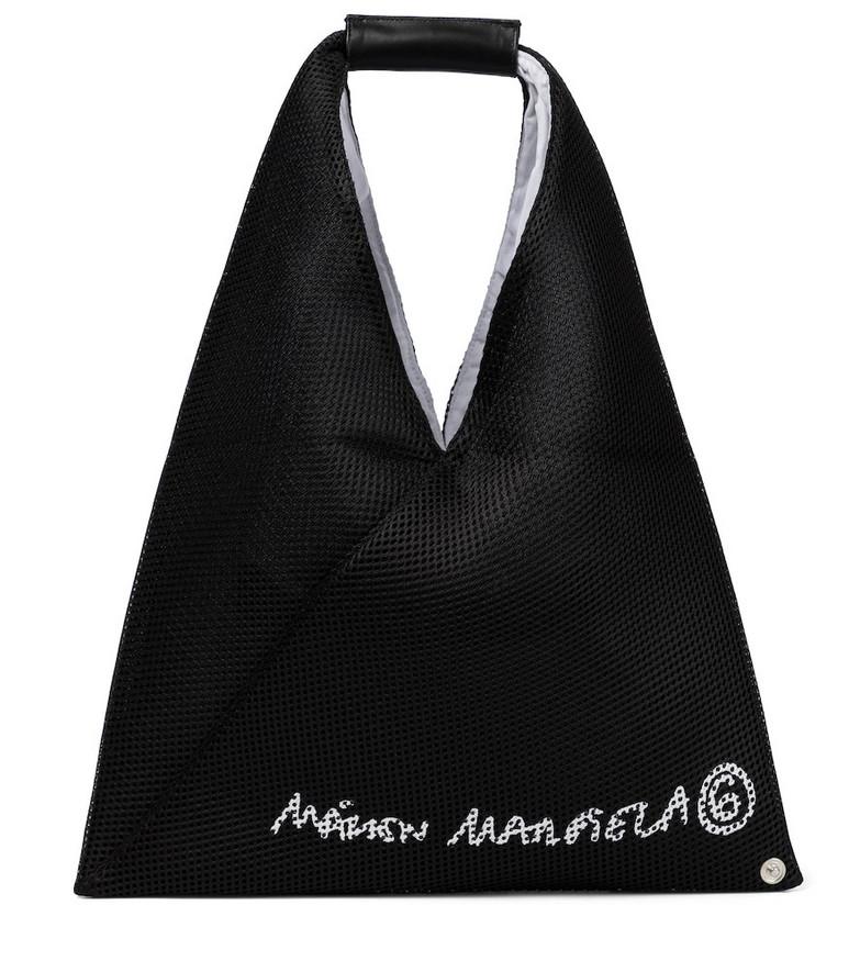 MM6 Maison Margiela Japanese Small mesh tote in black