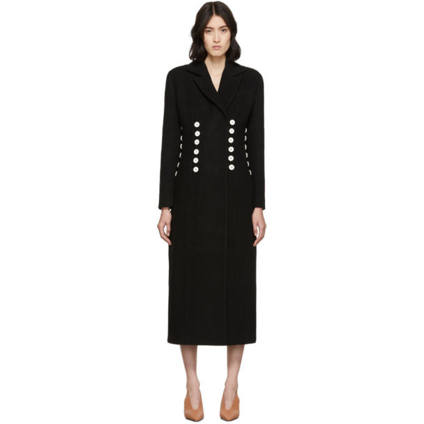 Materiel Tbilisi Black Button Coat