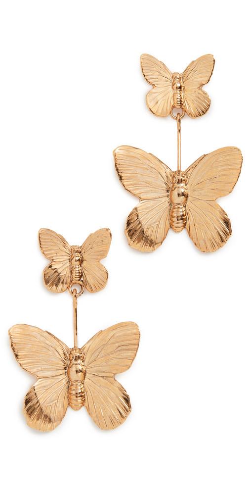 Jennifer Behr Ella Earrings in gold