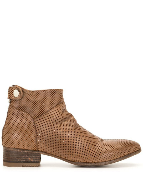 Officine Creative Seline ankle boots in brown