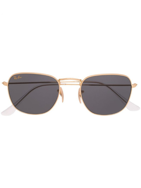 Ray-Ban Frank tinted sunglasses in gold