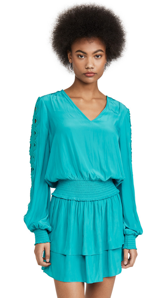 Ramy Brook Starling Dress in teal