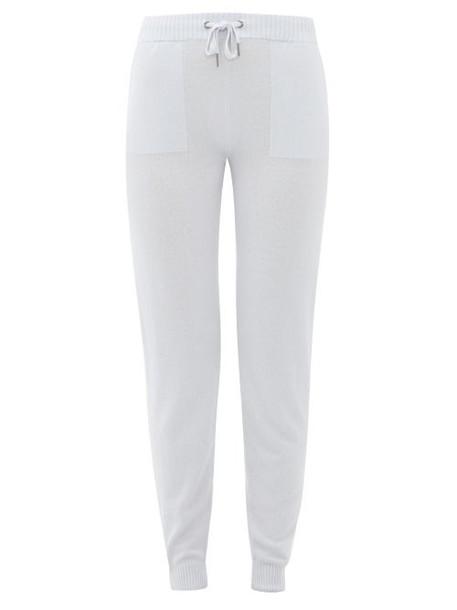 Derek Rose - Finley Cashmere Trousers - Womens - Light Blue