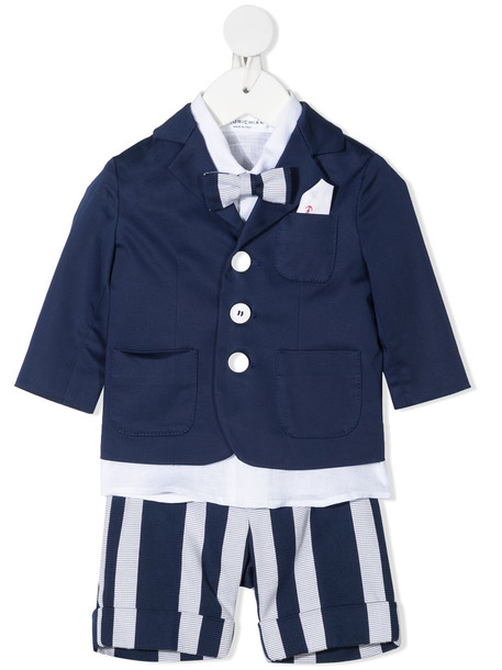 Colorichiari linen suit romper - White
