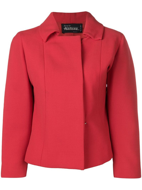 A.N.G.E.L.O. Vintage Cult 1960's Sorelle Fontana jackets in red