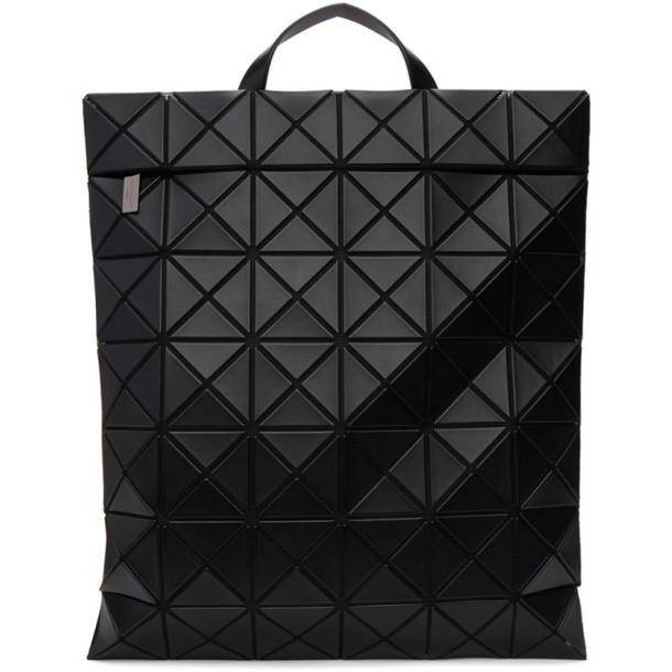 Bao Bao Issey Miyake Black Matte Lucent Backpack