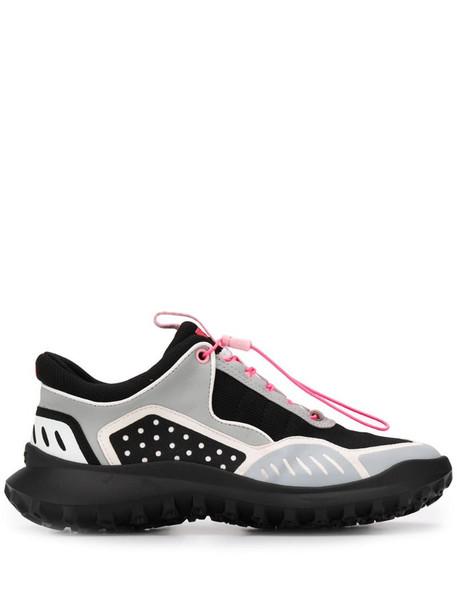 Camper geometric panel sneakers in grey