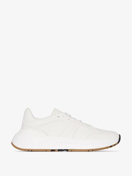 Bottega Veneta white speedster sneakers