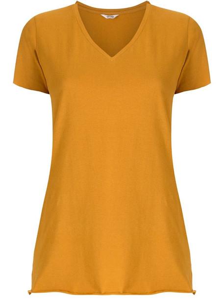 Uma - Raquel Davidowicz Canal short sleeves blouse in yellow