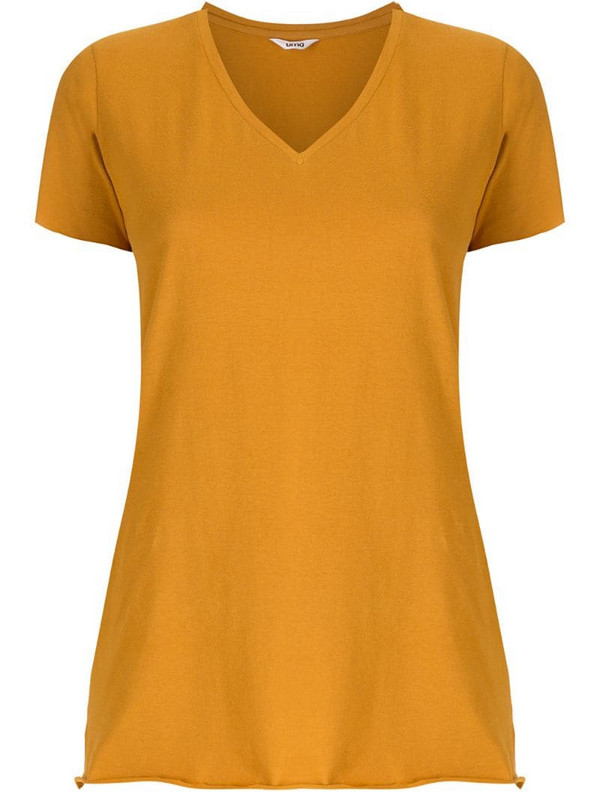 Uma - Raquel Davidowicz Canal short sleeves blouse in yellow