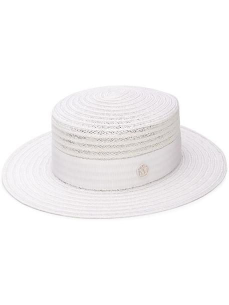 Maison Michel Kiki hat in white