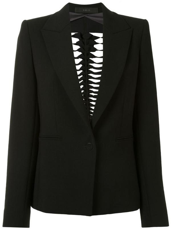 Dion Lee Filter cut-out blazer in black
