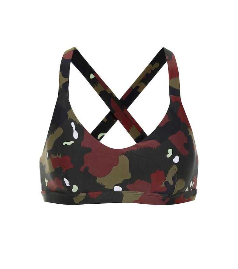 The Upside Jungle Sophie camo-print sports bra