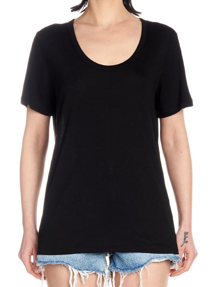 T By Alexander Wang jersey T-shirt in black